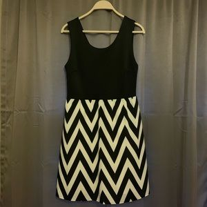 Black and white 41 Hawthorn dress